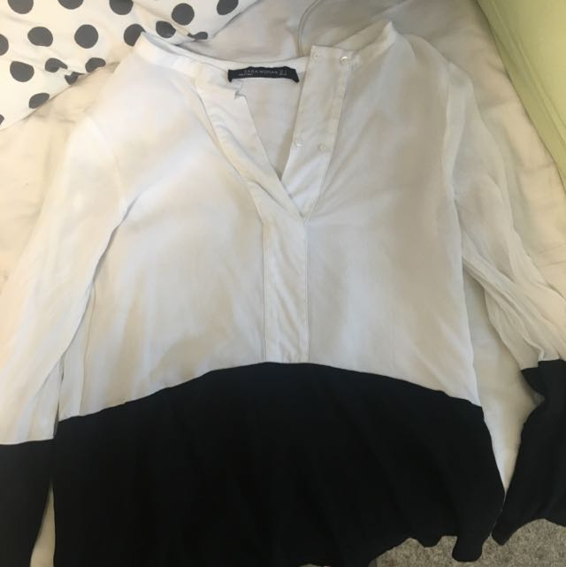 Zara雪紡襯衫
