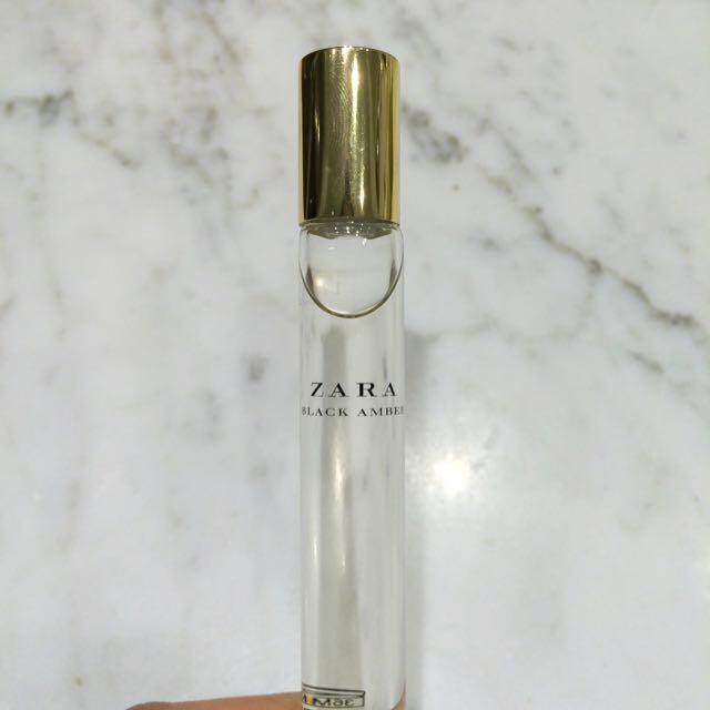 Zara Black Amber Roll-on Perfume