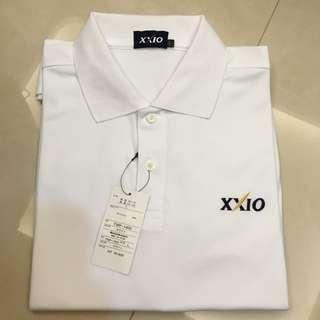 展示品~全新XX10 白色高爾夫短袖POLO衫(L Size)