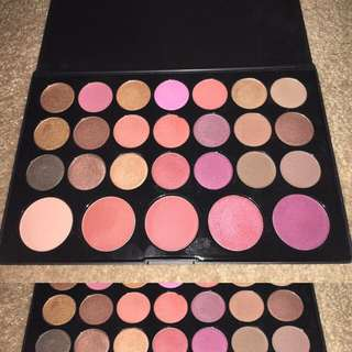 BH Cosmetics Blushed Neutrals 26 Color Eyeshadow & Blush Palette