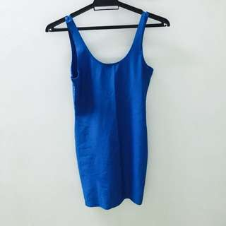 Brand New Forever 21 Blue Dress
