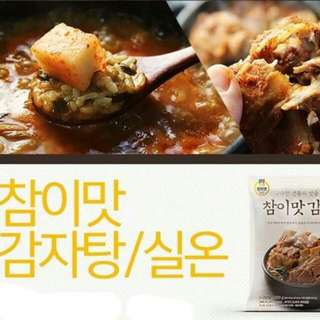 韓國銷售冠軍참이맛真味馬鈴薯排骨湯 800g