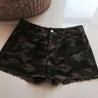 美國品牌 HHJ haute hippie Jean 米彩短褲
