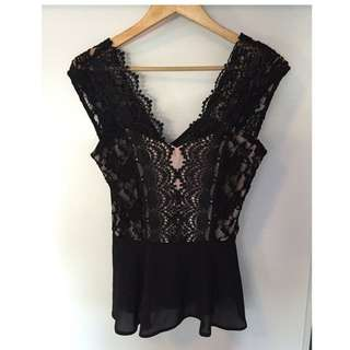 Brand New Lace Elise Ryan Top