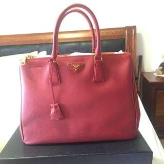 Genuine Red Prada Bag