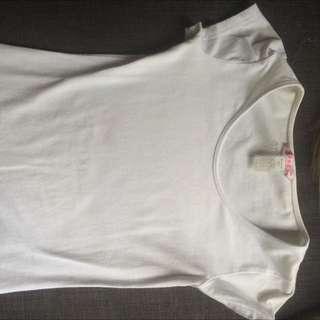 Supre Plain White Shirt
