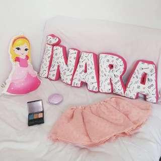Customize alphabet Pillow