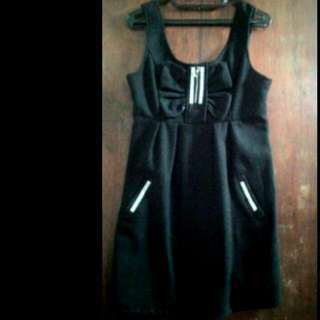 Simple Dress Black