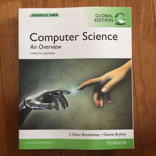 computer science textbook