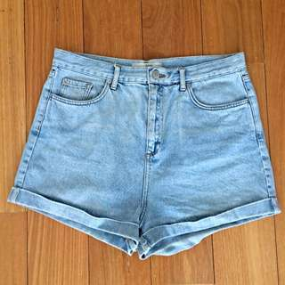 Top shop Denim Shorts