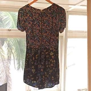 Floral Print Oasis Size 8 Playsuit