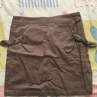 YAP線條短裙