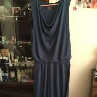 Veeko藍色長裙