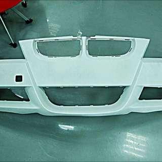 售: 整新品 正 E90  M-sport  前保干 含網子