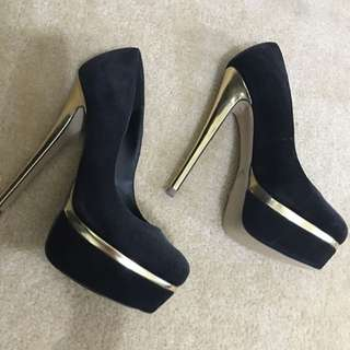 Windsor smith Gold Heels