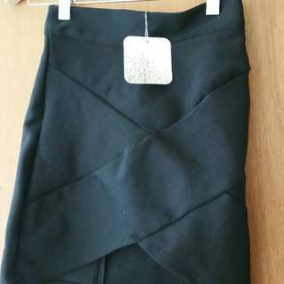 Black Bandage Skirt Brand New