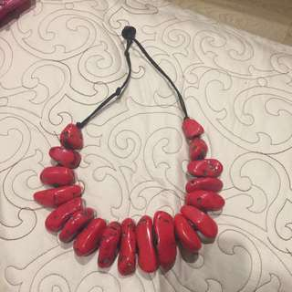 Red Rock Style Necklace
