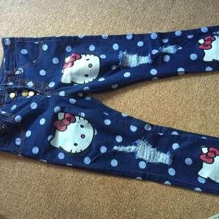 Jeans HK Size Anak 8-9 Tahun