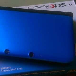 【暫售】台版3DSLL 藍色