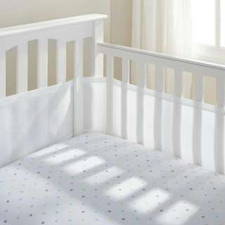 MESH BED CRIB LINER BREATHABLE BUMPER