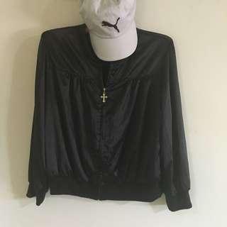 顯瘦 基本款 薄 黑色 外套 似 Ma 1