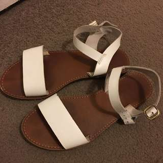 Windsor Smith White Bondi Sandals