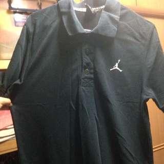 Jordan 喬丹 Polo衫 T恤 黑 Xs號