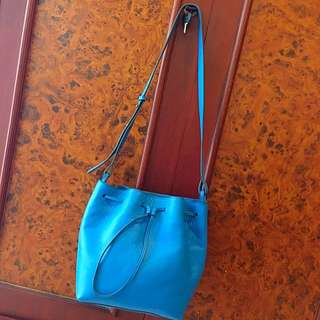 REPRICED - Purotti Tosca Blue Bag