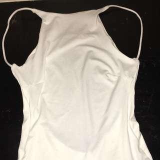 Zachary White Maxi Dress Xs