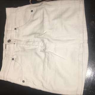 Denim Skirt Nine Size 8