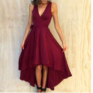Size 10 Red Dress