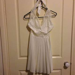 Marilyn Monroe Inspired White Lace Dress