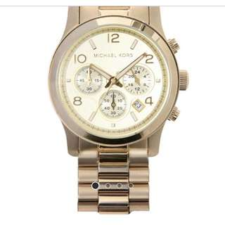 Michael Kors Chronograph Gold Watch
