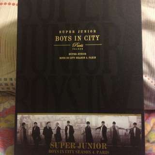 SUPER JUNIOR - Boys in City Season 4 in Paris