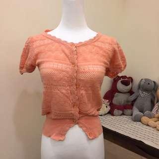 日本Dazzlin 針織外套