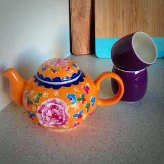 T2 Teapot & Cups
