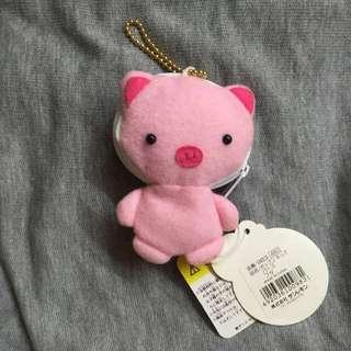 粉紅豬 青蛙吊飾