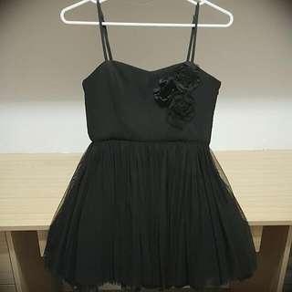 Forever 21 Black Tulle Dress