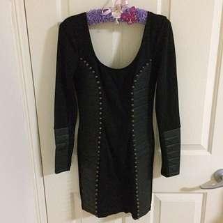 New Black Winter Dress