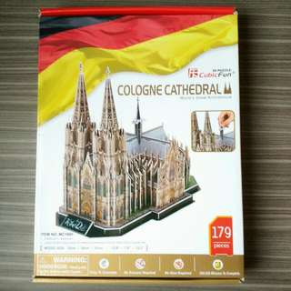 Cologne Cathedral 3D Puzzle