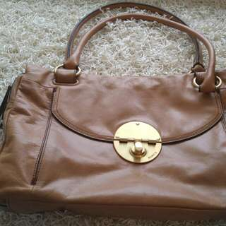 Light brown Oroton Bag