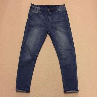 Boyfriend Jeans Mid Rise