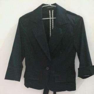 🚚 黑色-西裝外套