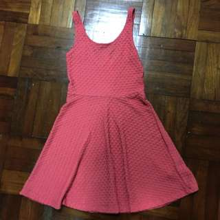 Authentic F21 Red-Pink Dress