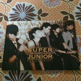 Super Junior BONAMANA Album Hong Kong Version