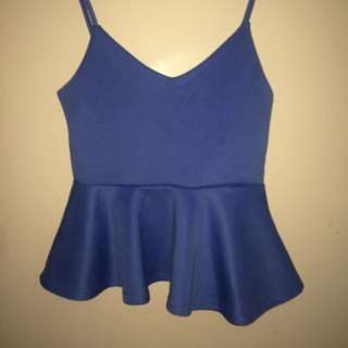 Valleygirl Blue Top