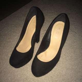 Rubi Shoes Black Heels