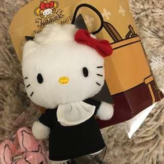 kitty貓 限量款式 香港限定款 凱蒂貓 玩偶 娃娃