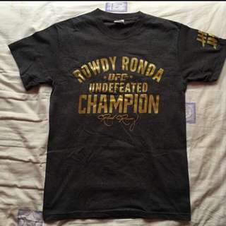 UFC Ronda Rousey Undefeated Champion Shirt