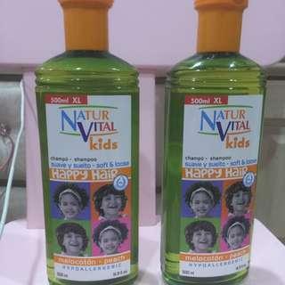 Natur Vital Kids Hypo Allergic Shampoo 500ml.x2
